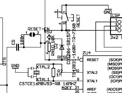 Arduino reset using DTR signal