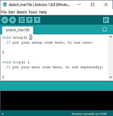 Arduino IDE first start