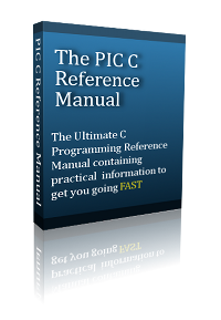 PIC Microcontroller C reference book