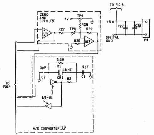 coin detector and counter figure 6 circuit diagram part 4 of the system shown in fig 2 for the coin detector and counter