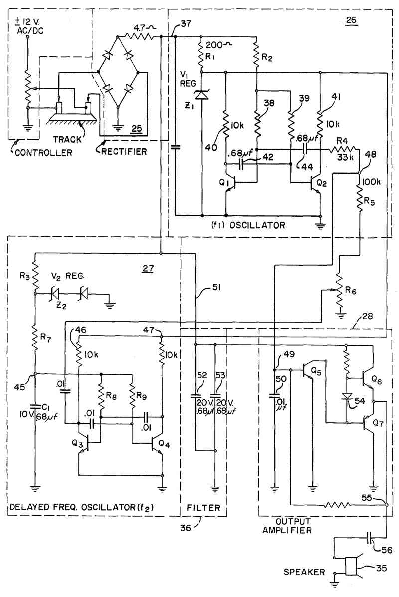 Diesel Engine Sound Simulation Figure 3 Circuit Schematic Illustrated In Fig Is A