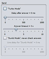 Uncheck dumb mode for reliability