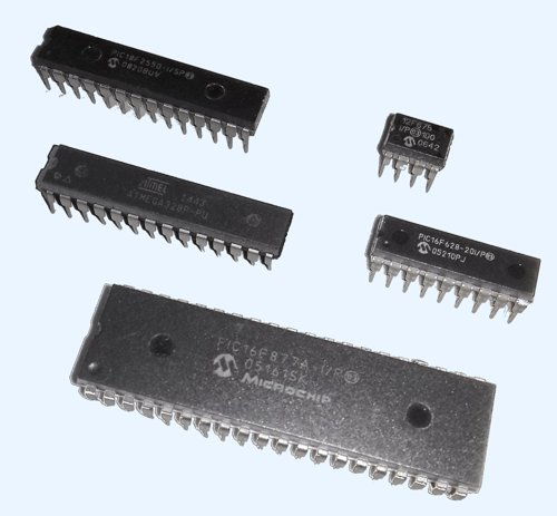 different microcontrollers