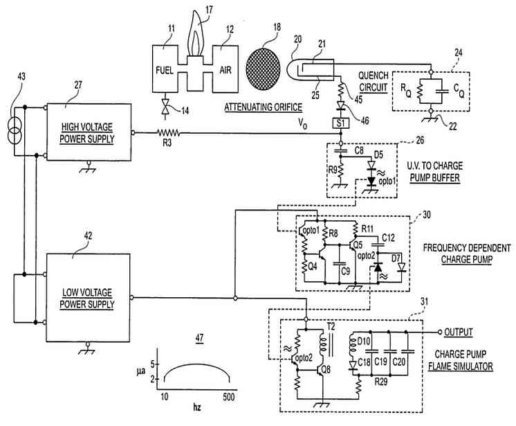 flame rod wiring diagram wiring diagram section  flame detector circuit flame rod wiring diagram