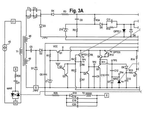 flame detector circuit  figure 3a is a schematic of the flame detector for the flame detector circuit