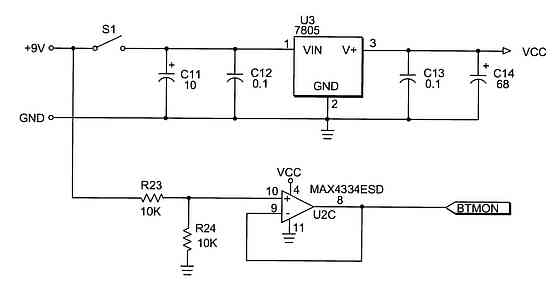 Gem Tester Circuit. Ure 2e Is An Electronic Schematic Of The Onoff Switch Regulator And Battery Voltage Monitor Present Invention For Gem Tester Circuit. Wiring. Gem Car Wiring Diagram Battery Level Indicator At Scoala.co