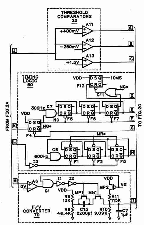 Glass break detector figure 2b is part b of a detailed schematic diagram based upon the block schematic diagram of fig 1 for the glass break detector ccuart Choice Image