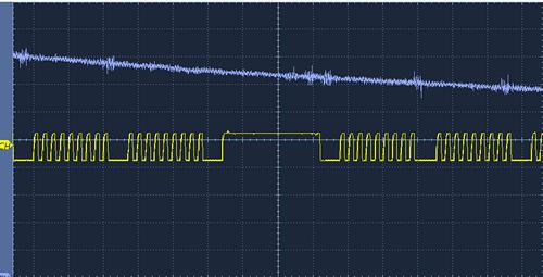 mcp4725 filtered output