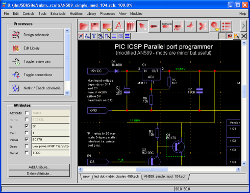 useful schematic drawing software rh best microcontroller projects com Architecture Schematic Drawings Electrical Schematic Symbols