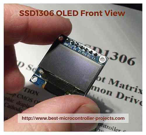 How to use the SSD1306 OLED LCD